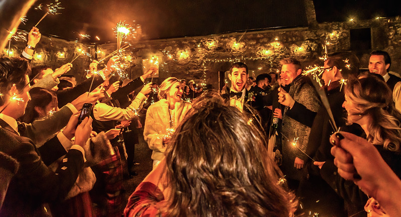 Duncan and Jen's Wedding Cow Shed Crail 9th November 2019