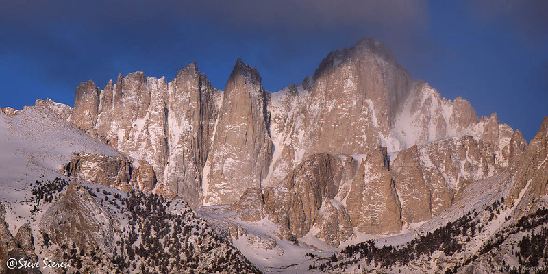 Mt Whitney Eastern Sierra