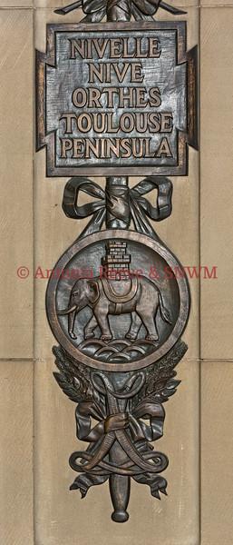 Regimental Bay, Princess Louise's Argyle and Sutherland Highlanders, Detail Battle Honours