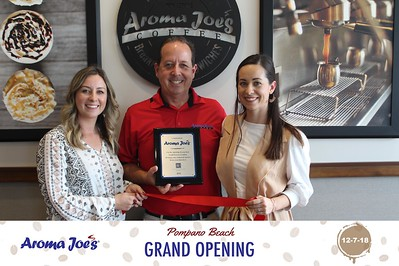 Aroma Joe's Coffee Grand Opening Ceremony