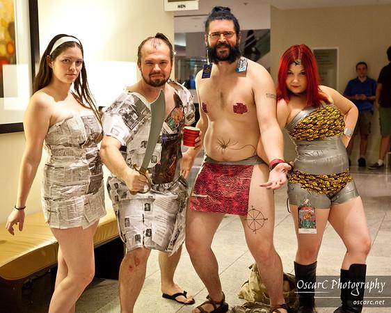 Hallway Costumes (DragonCon 2011)
