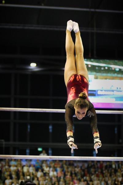 Michelle TIMM (GER); Deutsche Turnmeisterschaften Mehrkampf Damen Finale in, Berlin, Germany; 04.06.17, Photo: Jan von Uxkull-Gyllenband