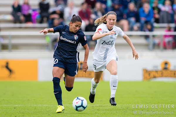 NWSL Semifinals - NC Courage vs Reign FC 10-20-2019