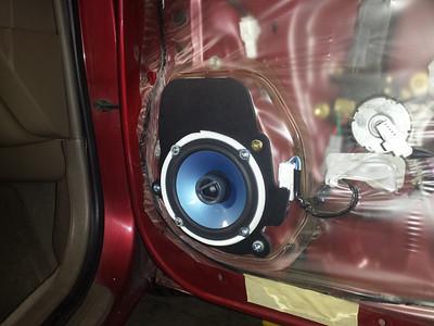 1995 Geo Prizm Front Door Speaker Installation - USA