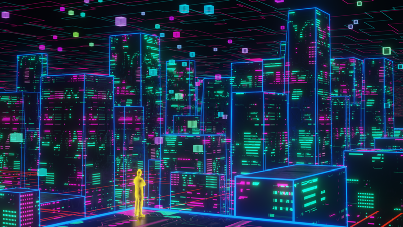 WE EXIST IN CYBERSPACE