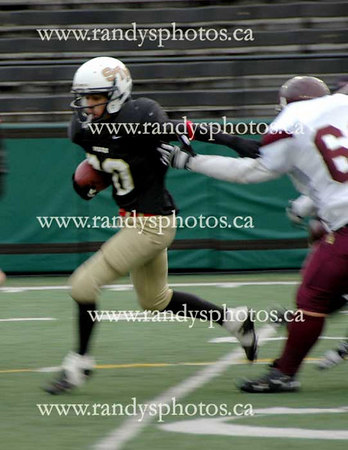 196-Saint Thomas More vs St. Jean de Brebeuf - Nov. 17 - 2006