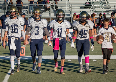 Elk Grove Freshman FB vs Franklin 2017