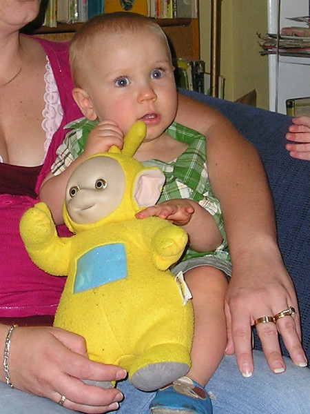 Will the real teletubby please stand up?