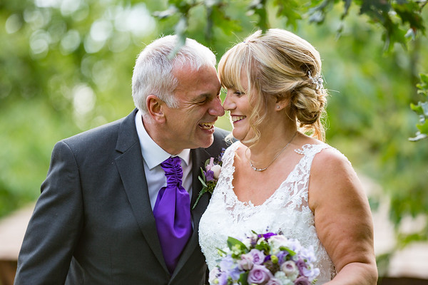 Fiona and Ted at Ribby Hall, Wrea Green