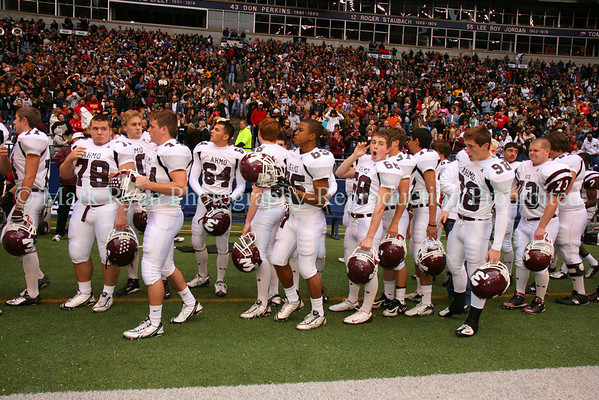 November 29,2008 Texas Stadium - Wylie High School Football Team