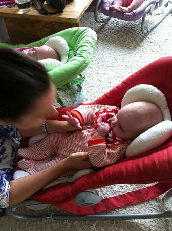 Baby triplets in Zurich
