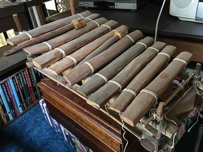 Estate Sale African Instruments