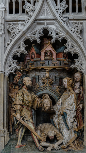 Amiens, Notre-Dame Cathedral, The Beheading of John the Baptist