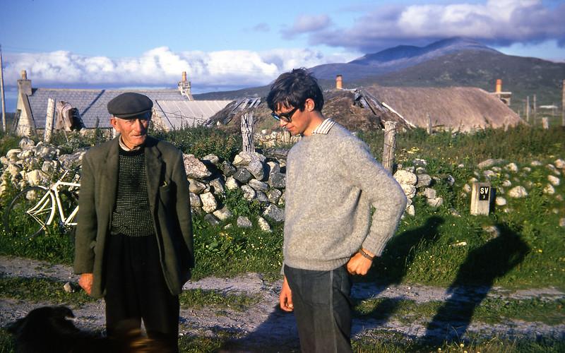 Aonghas a'Chlachair and Grant Reid   08/68