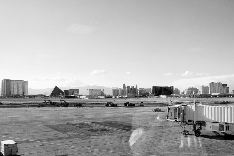 Photo taken from terminal 2 (you can see Cly's reflection) as we headed back to Calgary.