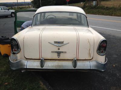 1956 Chevy Bel air 4 door project