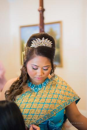 Bunnary & Bryan Cambodian Wedding Ceremony