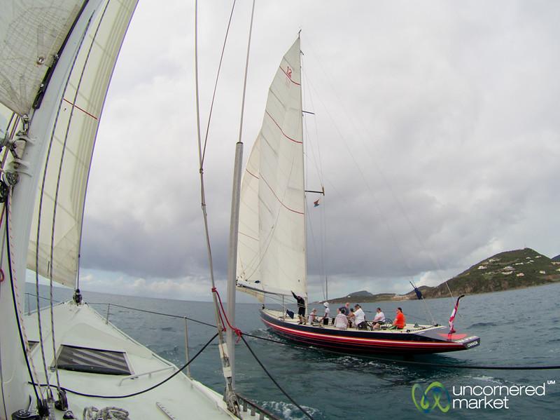 Racing the Great North Yacht - St. Maarten