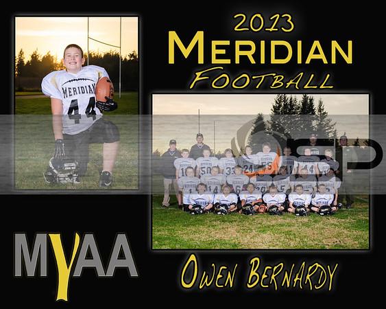 2013 Meridian Jr Tackle Football