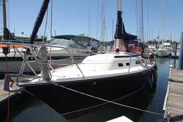 37 O'day sail boat