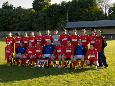 Johnstone Burgh Championship Winning Team Photoshoot