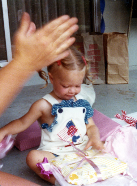 Anna's 2nd Birthday 1974 July