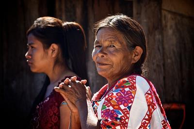 Mixtec Indian Women - Guerrero, Mexico