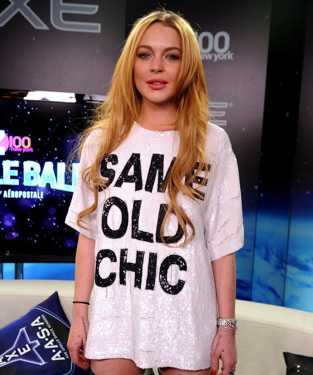 ". <p>3. LINDSAY LOHAN <p>Her list of former lovers exceeded only by her list of social diseases. (unranked) <p><b><a href=\' http://nymag.com/thecut/2014/03/list-of-people-lindsay-lohan-had-sex-with.html\' target=""_blank\""> HUH?</a></b> <p>    (Brad Barket/Getty Images for Clear Channel)"