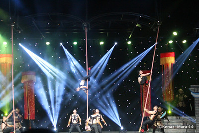 Cirque Shanghai Warriors 2014