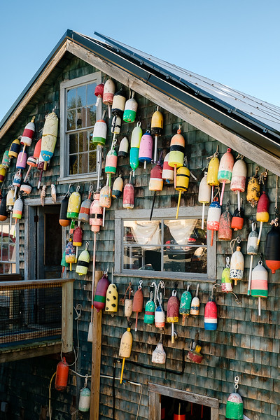 Colorful Lobster Floats on Side of Building