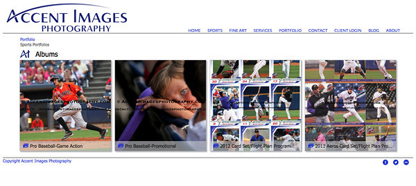jR Customization - Sports and Events  Photography SmugMug Web Site Examples