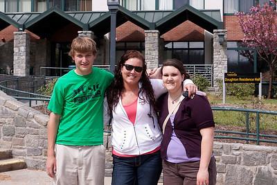 Appalachian State Visit 4/20/2011