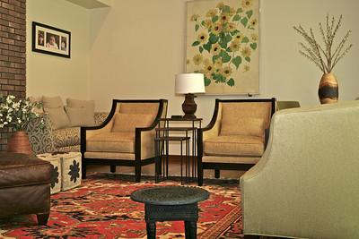 Morristown Tudor Living Room/Entry