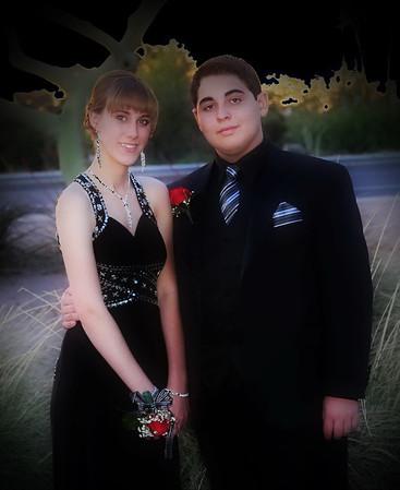 Steven Meythaler and Ariana Flat Prom