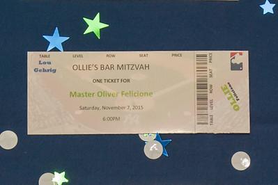 Ollie's Bar Mitzvah