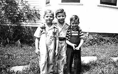 Donny, Bobby & Cousin Billy Lee (Billy is the son of their father's brother Bill)