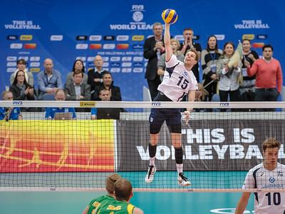 Australia v Finland match 1