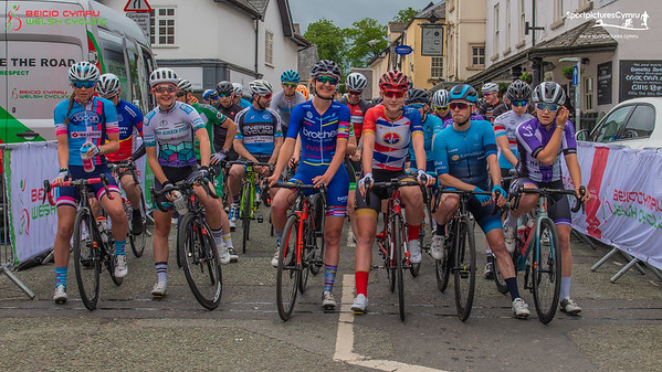 Welsh Cycling Road Race Championships - Start Pictures