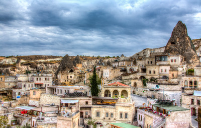 Goreme Town and People