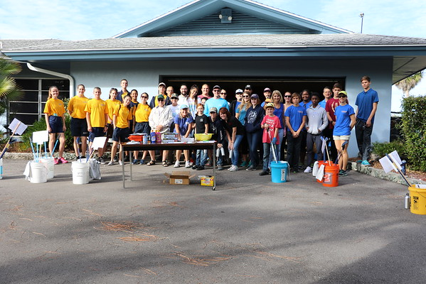 BLUE Ocean Grand Community Cleanup at Clam Bayou