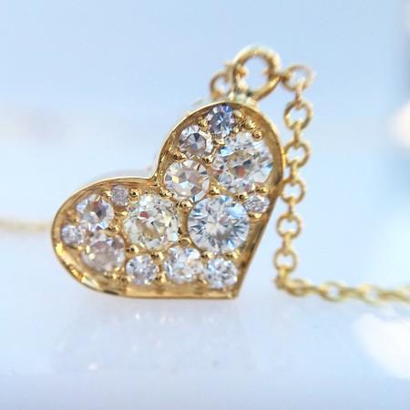 .67ctw Mixed Antique Cut Diamond Mosaic Pendant