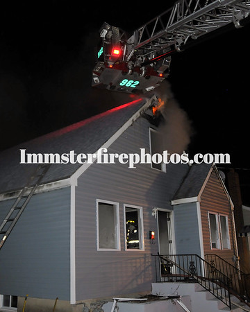 WESTBURY FD 1 ST AVE HOUSE FIRE 2-7-12