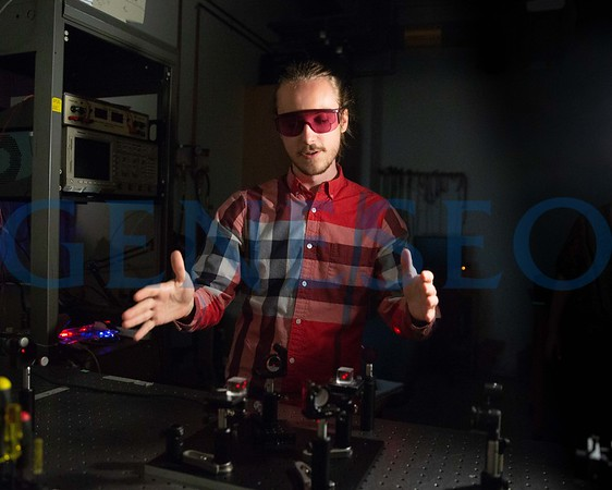 Physics Laser Lab Research Stock Photos