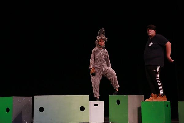 Shrek Dress Rehearsal