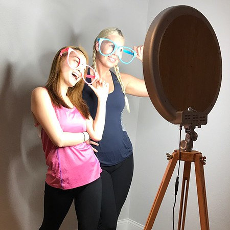 The Luxe Selfie Pad, Setups & Event Photos