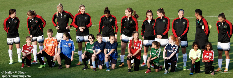 Thorns Starting XI - Player Introductions (07 May 2016)