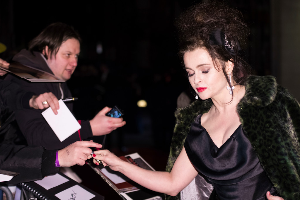. Helena Bonham Carter poses for photographers upon arrival at the BAFTA Film Awards after-party, in London, Sunday, Feb. 18, 2018. (Photo by Vianney Le Caer/Invision/AP)
