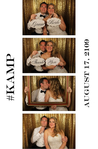 Kathleen & Martin Paul Wedding - 8.17.19 - Photo Strips