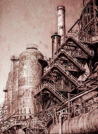 Bethlehem Steel stacks - Sept 2019