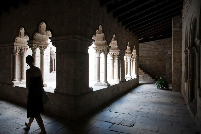 Claustro (siglo XII) del monasterio de Sant Pau del Campo, Barcelona